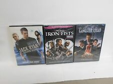 Gangster Squad, Jack Ryan, The Man with the Iron Fists DVD combo pack