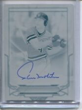 2016 TOPPS TRIBUTE PAUL MOLITOR FOUNTATION OF GREATNESS AUTOGRAPH 1/1 BREWERS