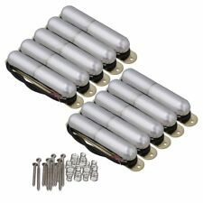10PCS Electric Guitar Lipstick Tube Pickup with Springs & Mounting Screws