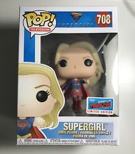 Funko Pop Television Supergirl #708 Supergirl NYCC 2018 Official Sticker
