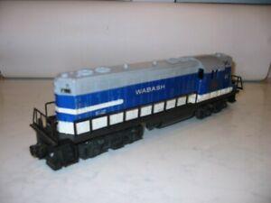 Vintage Lionel, Postwar, #2337 Wabash GP7 locomotive, Tested Working Issued 1958