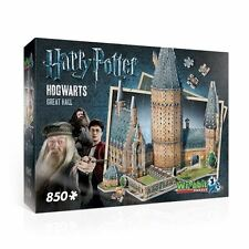 Harry Potter 3d Castello di Hogwarts grande sala Wrebbit Puzzle Kit Modello