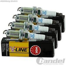 4x NGK ZÜNDKERZE V-LINE 6 BPR5E, 7281 4 Zylinder-Motoren KOMPLETT-SET