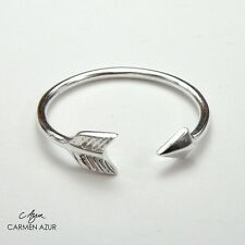 Solid 925 Sterling Silver Toe / Midi Ring Arrow Design, Ladies New with Gift Bag