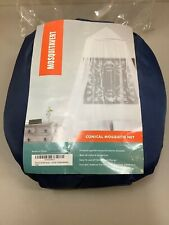 Mosquitavert Conical Mosquito Net Bed Canopy