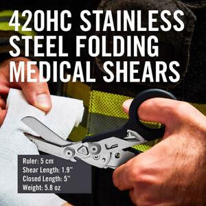 Raptor Foldable Tactical Scissors Bandage Paramedic Shears Survival Rescue Tool