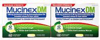 Mucinex DM Maximum Strength Expectorant & Cough Suppressant 84 Tablets