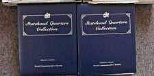 Statehood Quarters Postal Commemorative Society Complete Set 2 Binders