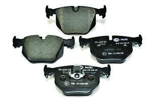 Hella Pagid Rear Brake Pads - DB1397H fits BMW X5 E53 4.4i 3.0d 4.6is 3.0i