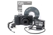 Ricoh GR 16.2MP Digital Camera [Exc++] from Japan【Shutter Count 598】#12-28