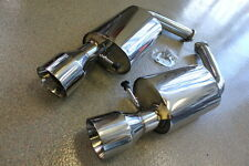 Lexus 92-00 SC300 SC400 Soarer Axleback Exhaust 60mm Piping 115mm Beveled Tips