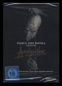 DVD APOCALYPSE NOW - FULL DISCLOSURE LIMITED STEELBOOK EDITION - 4 DISC SET *NEU