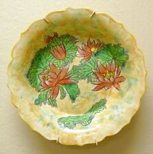 "Superb Huge Royal Doulton 'Water Lily"" Series Flower Bowl D 6343 c1940"