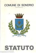 STATUTO DEL COMUNE DI SONDRIO 1991