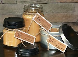 Maple Creek Candles ~ Vanilla & Brown Sugar Rolled Up Into a Cookie~ Pick a Size