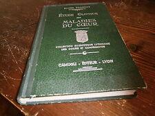 Etude clinique des maladies du coeur (corps humain médecine ) par Froment 1946