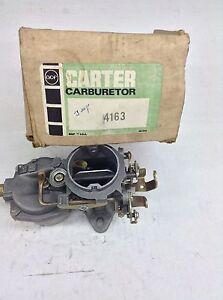 NOS CARTER RBS CARBURETOR 4163S 1966-1967 JEEP 232 ENGINES