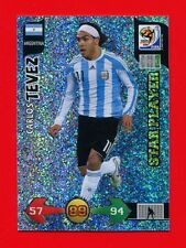 SOUTH AFRICA 2010 - Adrenalyn Panini - Card Star Player - TEVEZ - ARGENTINA