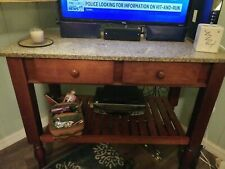 Large Marble Top Table