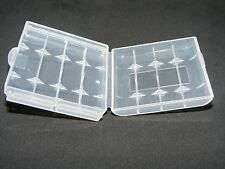 10x batería aa + AAA Safety box retención clear Storage Box