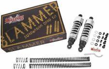 Burly Chrome Slammer Shocks + Fork Springs Kit 2004-2015 Sportster XL 883 1200