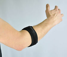 Neoprene Golf/Tennis Elbow Strap Breathable, One Size, Black S4U®