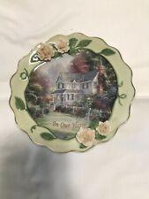 """Thomas Kinkade's Welcome Home Collection """"Victorian Garden"""" 00004000 ;"""