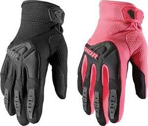 Thor Women's Spectrum Gloves - MX Motocross Dirt Bike Off-Road ATV MTB Gear