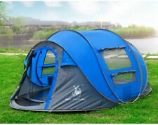 Throw Pop Up Automatic Tent Waterproof Outdoor Hiking Camping Double Layer Tent