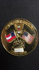 RARE GOLD FINISH CIVIL WAR SERIES GETTYSBURG GEOCOIN 1/50! Unactivated Trackable