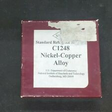 Nist Standard Reference Material C1248 Nickel Copper Alloy
