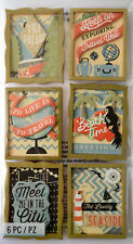 JOLEE'S BOUTIQUE TRAVEL POSTER Wood Craft Scrapbook Sticker Embellishment