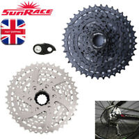 SunRace 8 Speed 11-40T MTB Bike Cassette fit SHIMANO SRAM Bicycle Derailleur UK