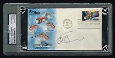 Rusty Schweickart signed autograph Skylab FDC First Day Cover PSA/DNA Slabbed