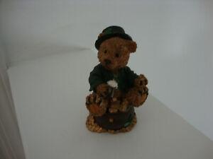 St. Patrick's Day Bear  Figurine
