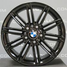 """Genuine BMW 1 Series 207 M Sport 17"""" pollici Cerchi in lega nero X4, E81, E82, E87, E88"""