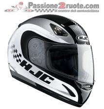 Helmet moto Hjc Cs14 Checker Mc5 size M black white casque integral helm