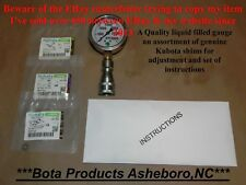 Kubota Bx 1870,2350,2360,2370, Bx24,Bx25 Pressure Boost shims Adjustment Kit