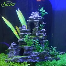 Aquarium Ornament Artificial Resin Landscape Rockery Plants Fish Tank Decoration