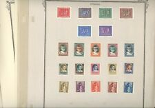 NETHERLANDS, LUXEMBOURG, Charity, Excellent assortment of Mint Stamps hinged on