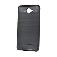 Huawei Elate, Ascend XT2 Phone Case - INNACASE Brushed Carbon - Black