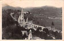 Br7033 Lourdes La Basilique et le Monument Interallie vu du Chateau-Fort france