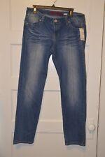 Bongo Juniors' Daredevil Skinny Jeans - Gold Rush Wash Size 17