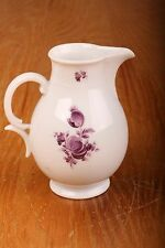 Vintage Nymphenburg Creamer Purple Flower Pattern