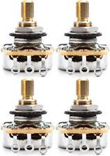 Emerson Custom Pro CTS Potentiometer - 250k Ohms Short ... (4-pack) Value Bundle