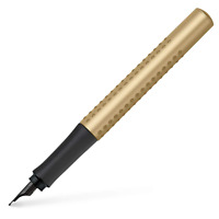 Faber Castell Penna stilografica Grip Edition Gold pennino EF fountain pen 14092