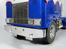 Aluminum Front Bumper Guard for Tamiya 1/14 RC Semi King Grand Hauler Globeliner