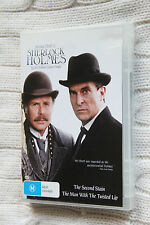 Sherlock Holmes:The Second Stain, The Man with the Twisted Lip (DVD)