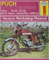 Haynes Manual 0318 - Puch Sports Mopeds 49cc (72-78) workshop/service: see desc*