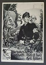 More details for german empire third reich original postcard aich is free